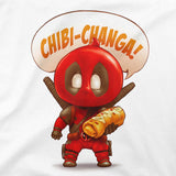 Chibi-Changa Deadpool Women's Classic Fitted Tee