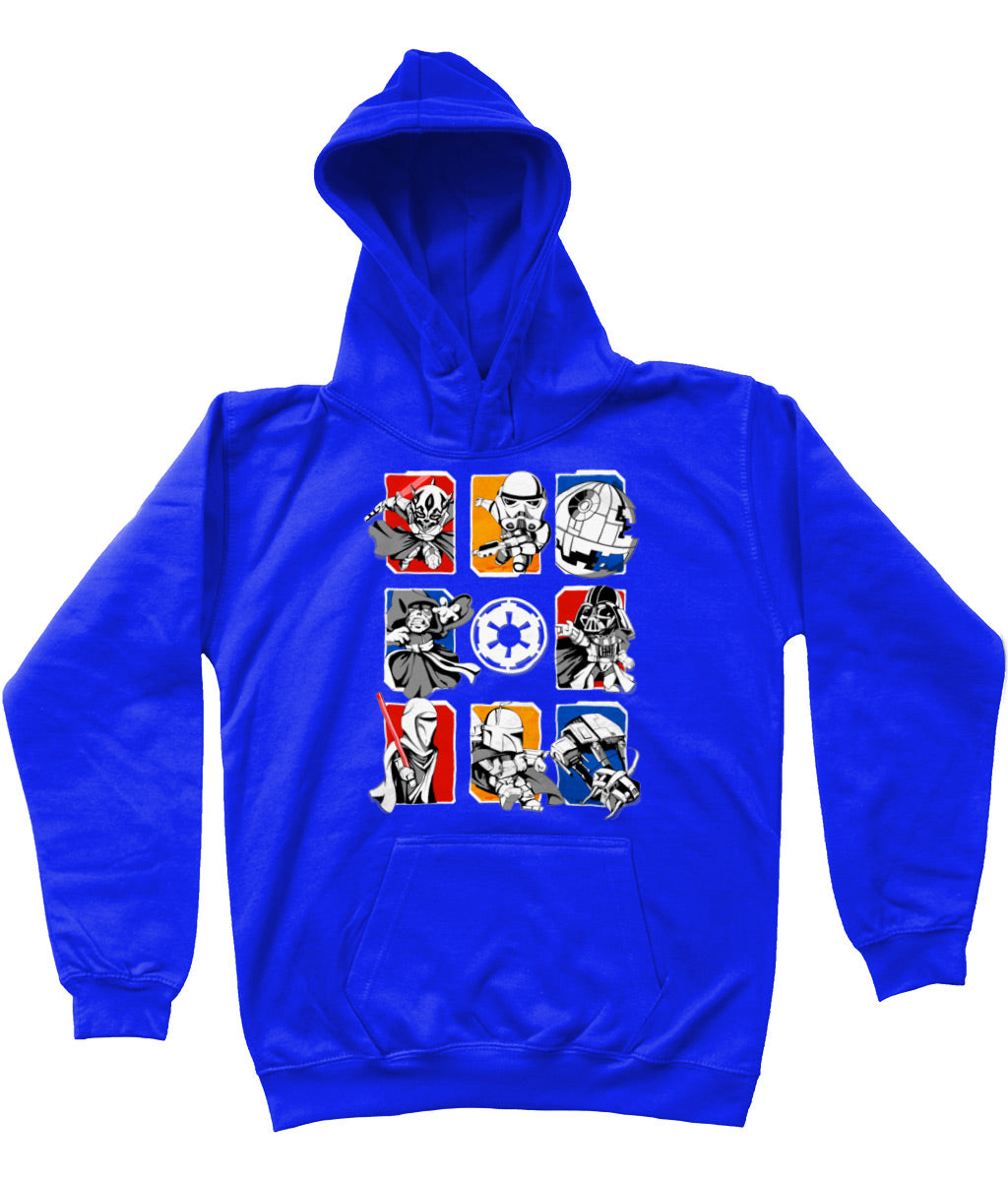 BSW Youth Girls Powerpuff Sith Lords Vader Sidious Maul Premium Hoodie