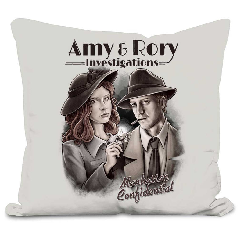 doctor who amy and rory cushion