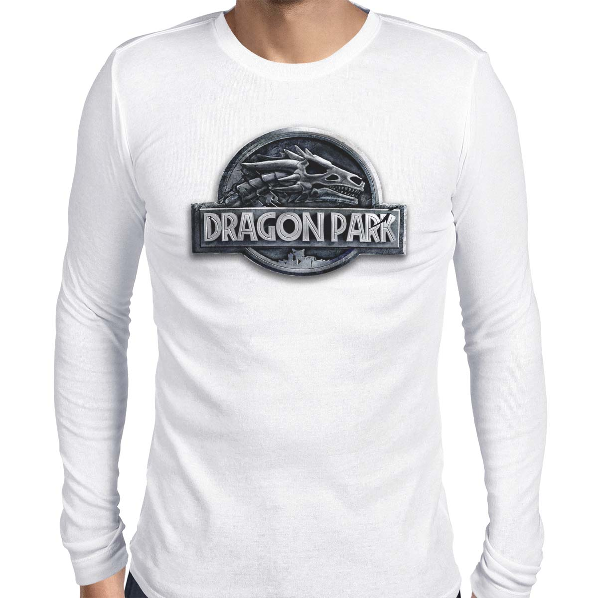 Dragon Park Men's Long Sleeve Tee
