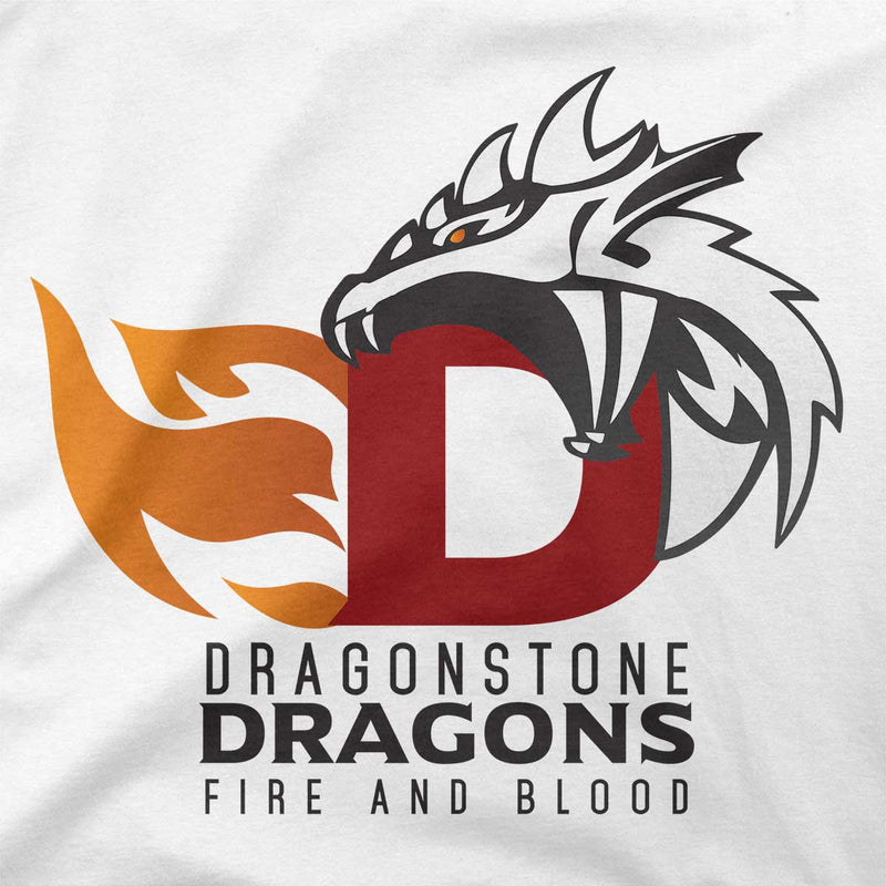 game of thrones dragonstone dragons tshirt