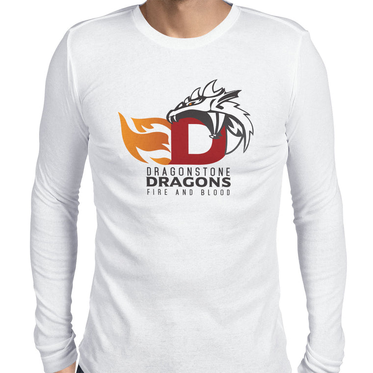 Game of Thrones: Dragonstone Dragons Men's Long Sleeve Tee
