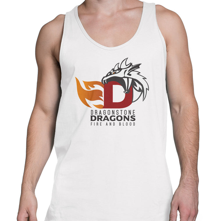Game of Thrones: Dragonstone Dragons Men's Tank Top
