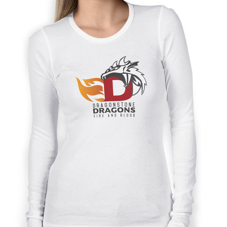 Game of Thrones: Dragonstone Dragons Women's Long Sleeve Tee