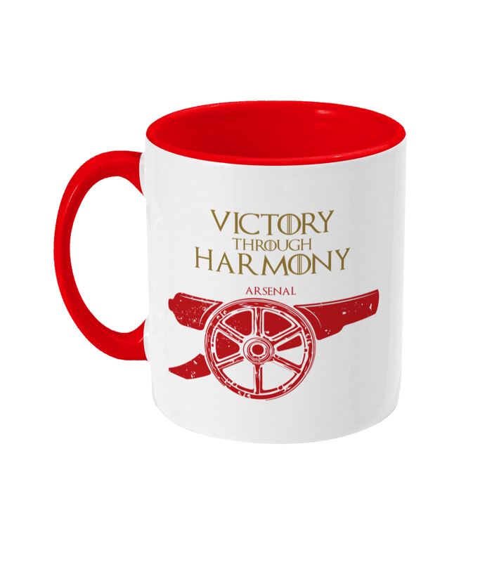 game of thrones house arsenal fc mug