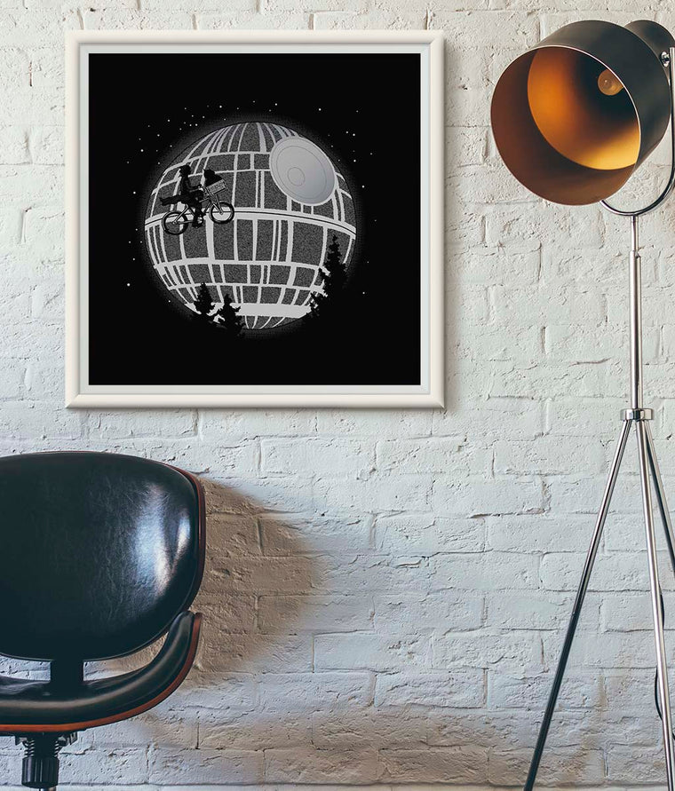 Fly Me To The Death Star Poster