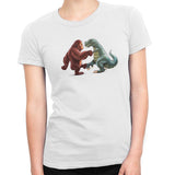 Foot Fist Bump Women's Classic Fitted Tee