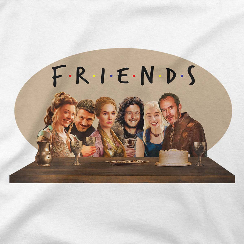 game of thrones friends tee
