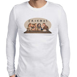 game of thrones friends long sleeve tee