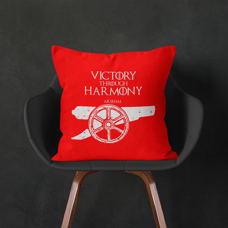House Arsenal Throw Cushion