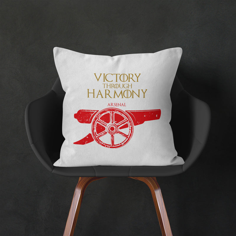 game of thrones house arsenal fc cushion