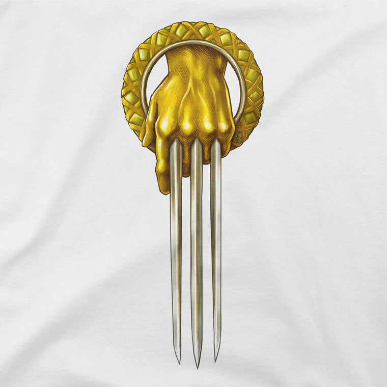 game of thrones hand of the king wolverine graphic tee
