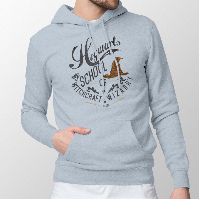 Harry Potter: Hogwarts School Men's Pullover Hoodie