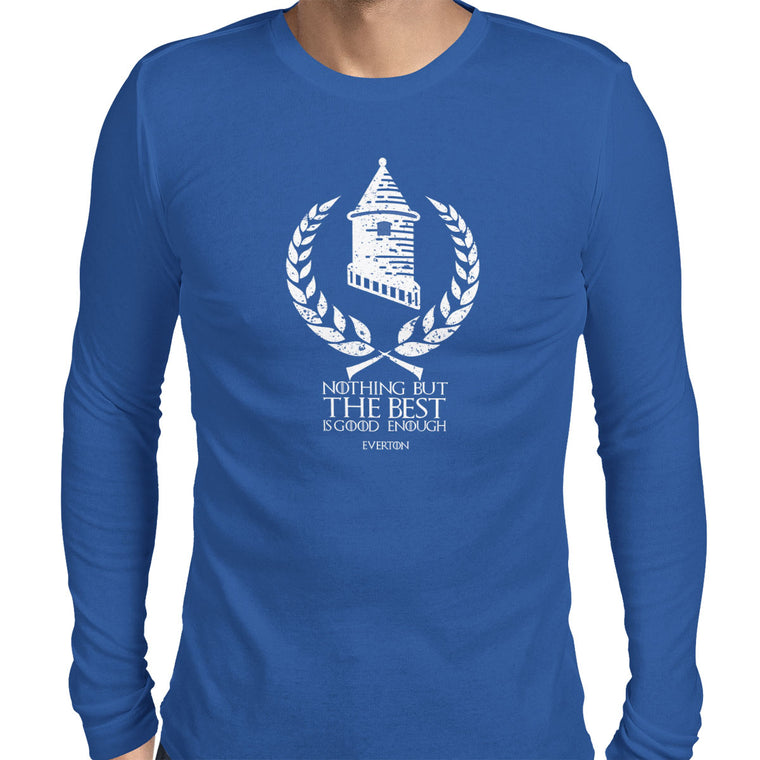 House Everton Men's Long Sleeve Tee