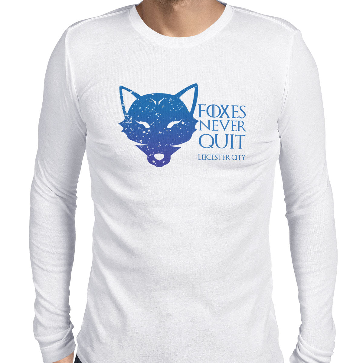 House Leicester City Men's Long Sleeve Tee