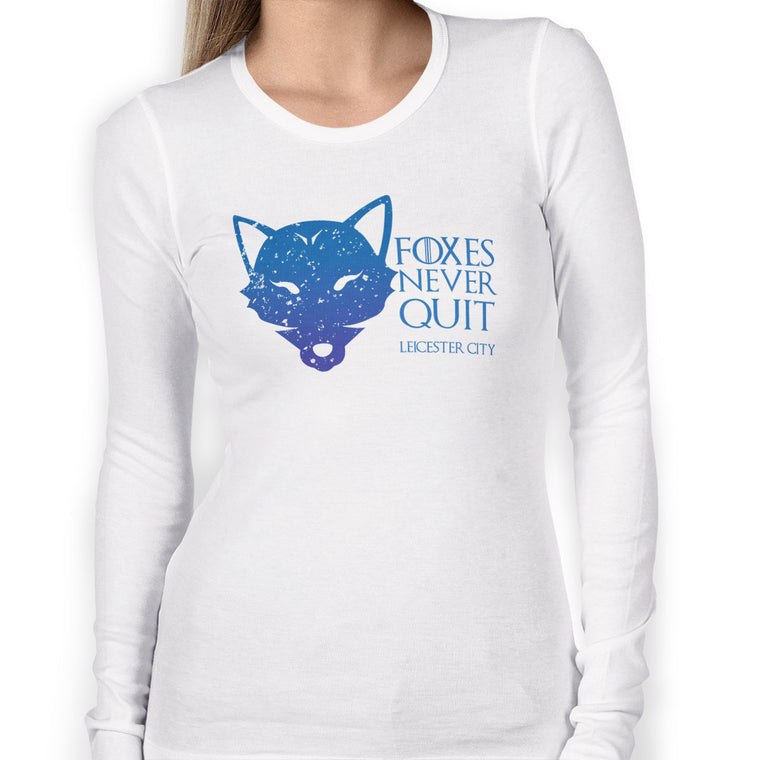 House Leicester City Women's Long Sleeve Tee