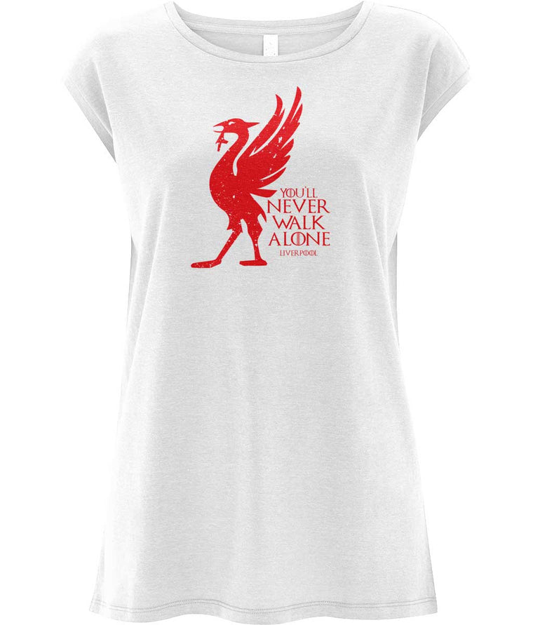 House Liverpool Women's Capped Sleeve Tee
