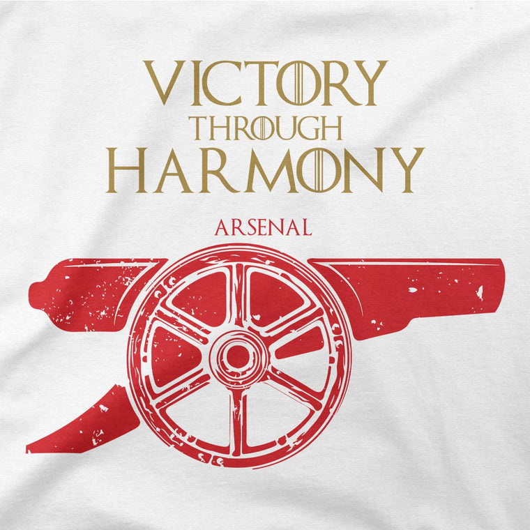 game of thrones house arsenal fc tshirt