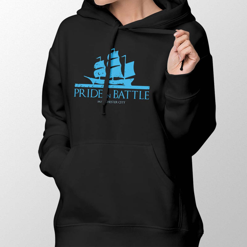 House Manchester City Women's Pullover Hoodie