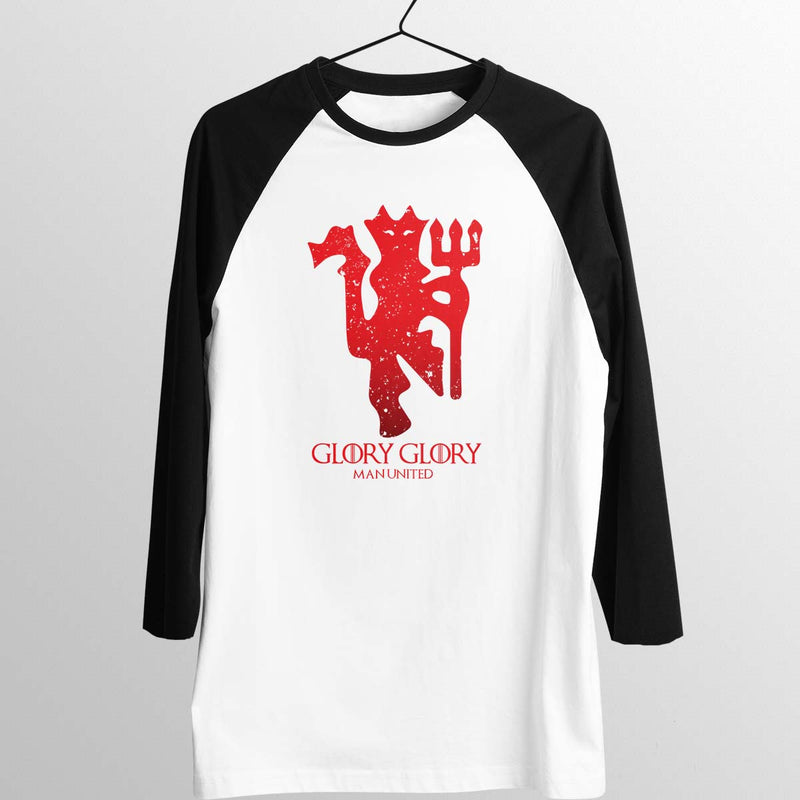 House Man United Unisex Baseball Tee