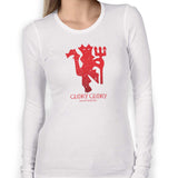 House Man United Women's Long Sleeve Tee