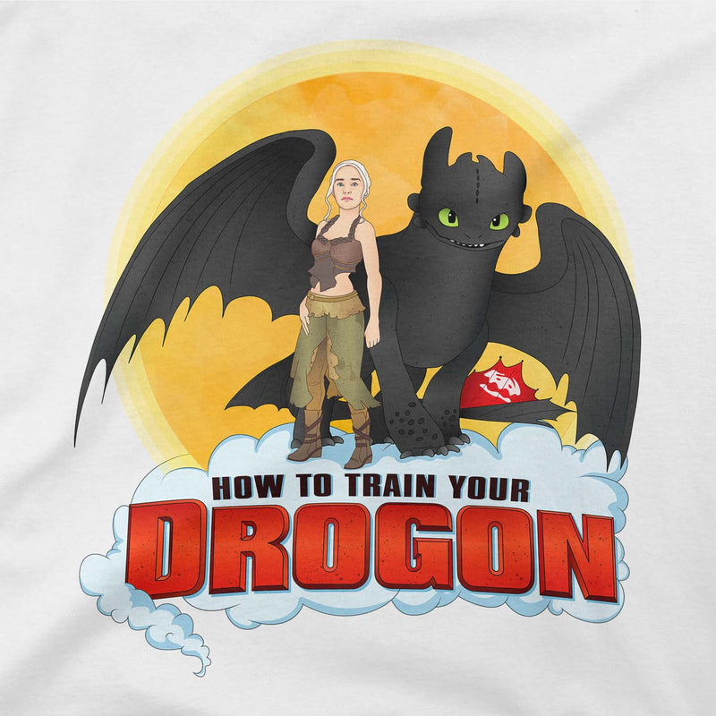 How To Train You Drogon Men's Long Sleeve Tee
