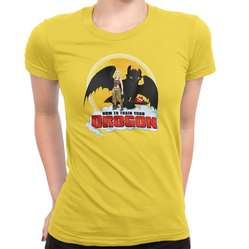 How To Train Your Drogon Women's Classic Tee