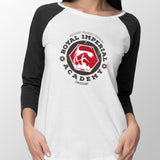star wars royal imperial academy baseball tee womens