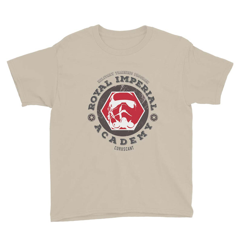 star wars royal imperial academy tshirt beige
