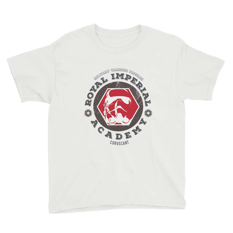 star wars royal imperial academy tshirt white