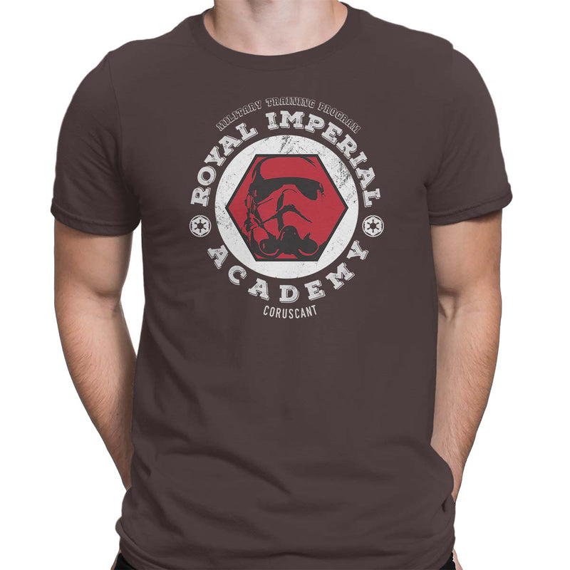 star wars imperial academy tshirt brown