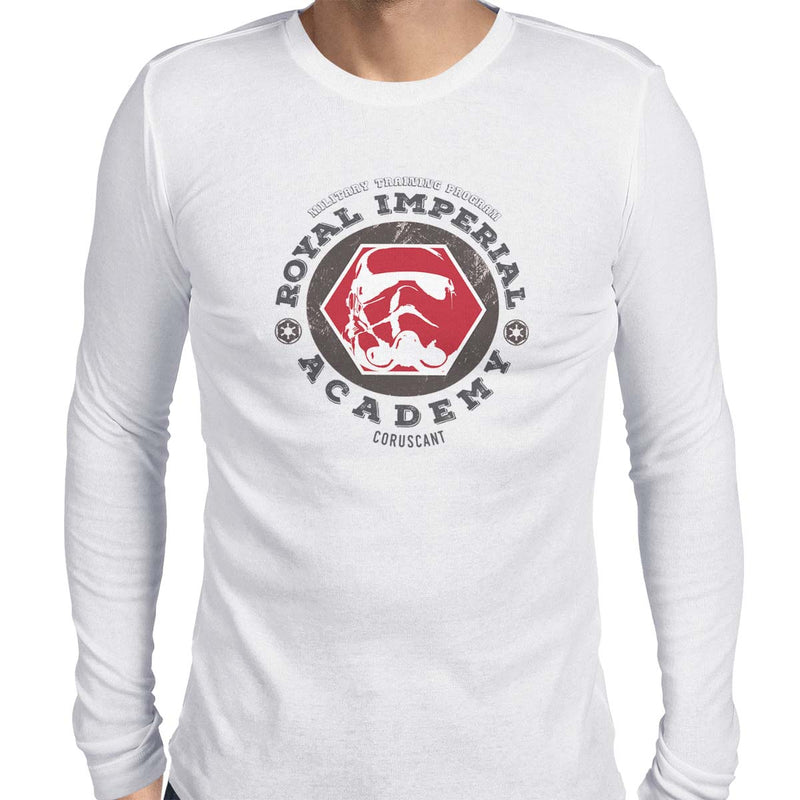 star wars imperial academy long sleeve white