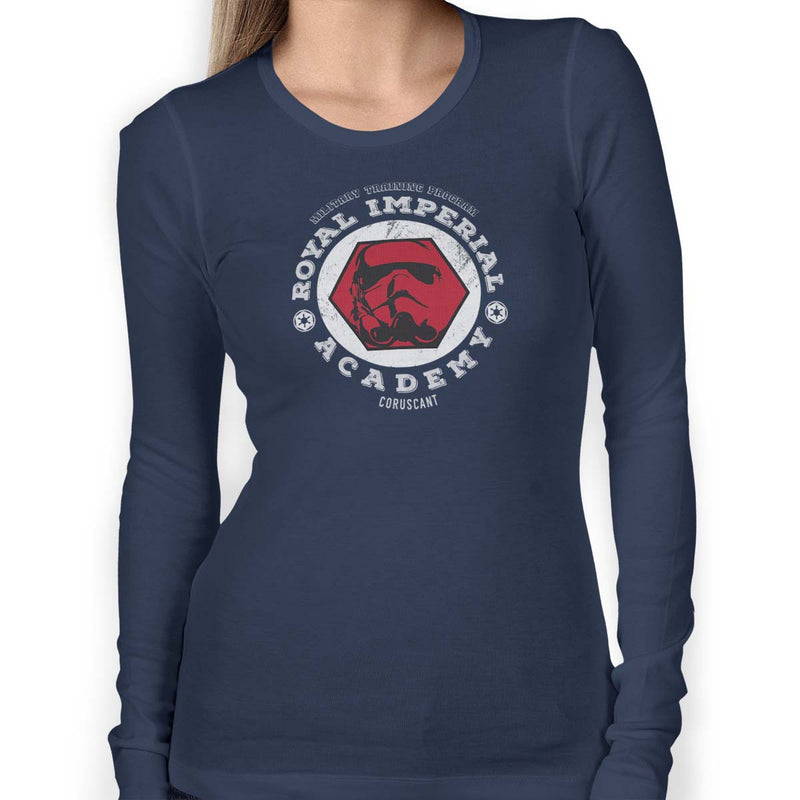 star wars royal imperial academy long sleeve navy