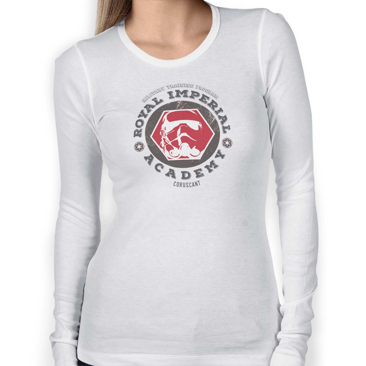 star wars royal imperial academy long sleeve white