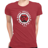 star wars royal imperial academy tshirt red