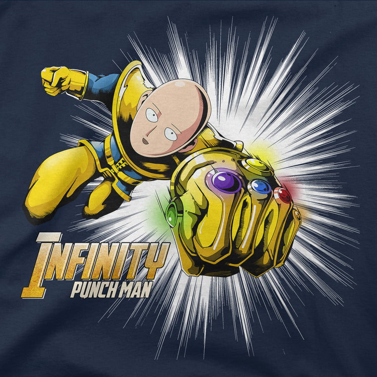 Infinity Punch Man Men's Long Sleeve Tee