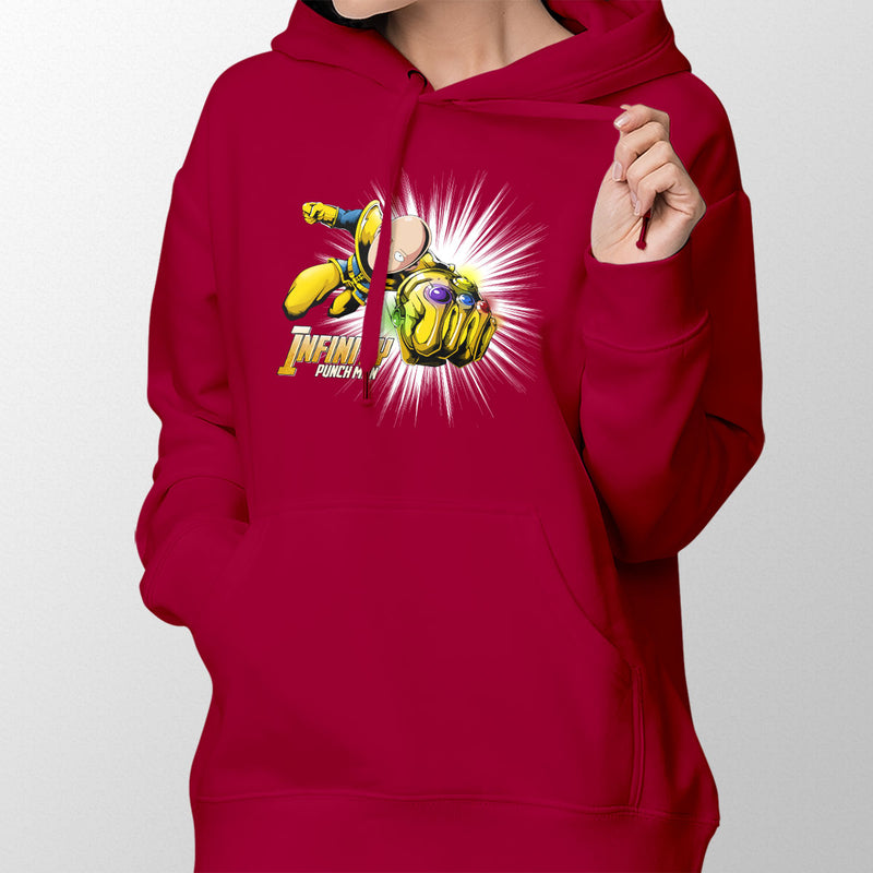 Infinity Punch Man Women's Pullover Hoodie