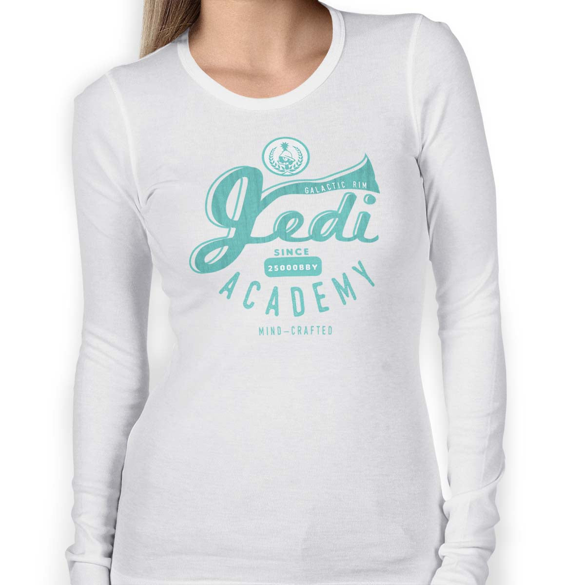 star wars jedi academy long sleeve white