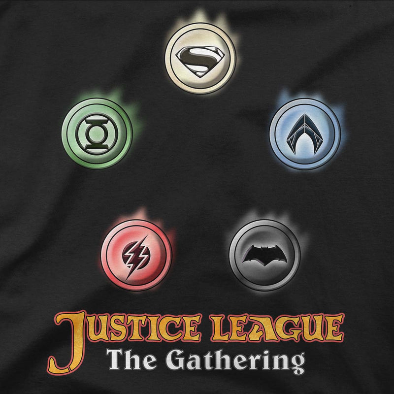 Justice League The Gathering Men's Pullover Hoodie