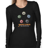 Justice League The Gathering Women's Long Sleeve Tee