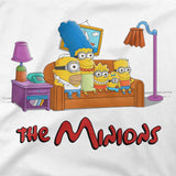 Simpsons minions graphic tee
