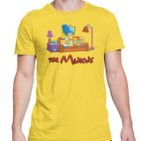 Simpsons minions mens t-shirt yellow