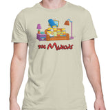 Simpsons minions mens t-shirt natural