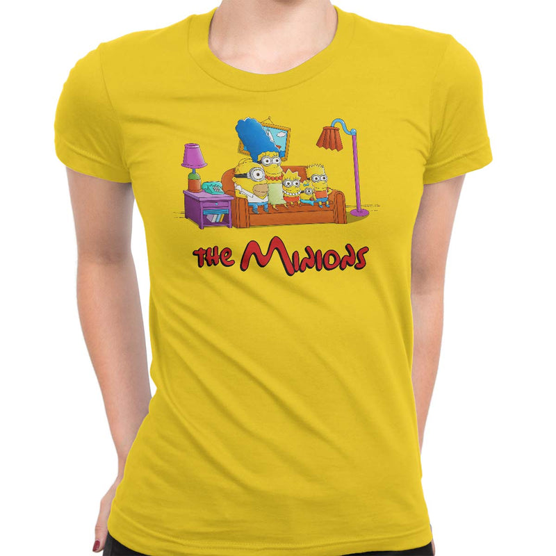 The Minions Women's Classic Fitted Tee