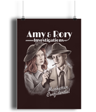 doctor who amy and rory poster