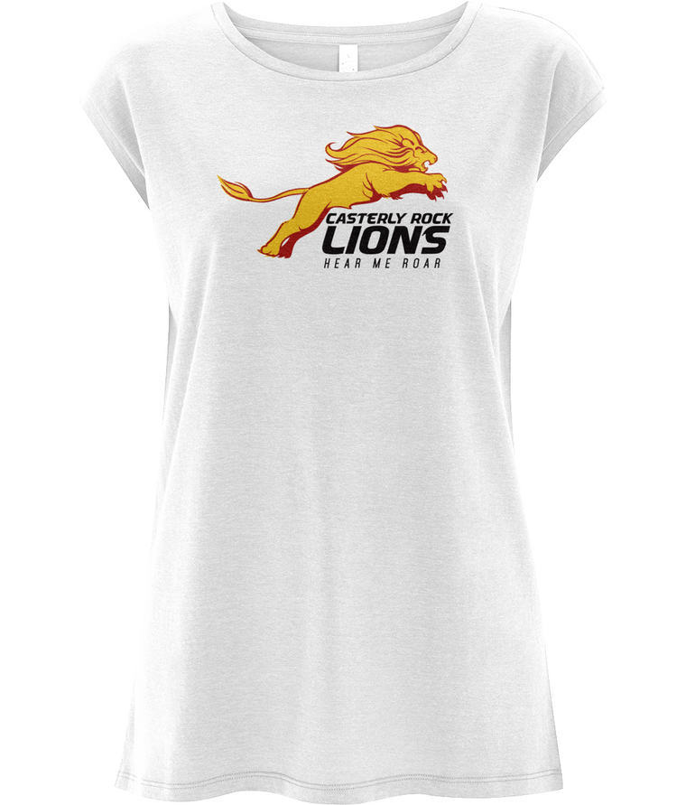 Game of Thrones: Casterly Rock Lions Women's Capped Sleeve Tee