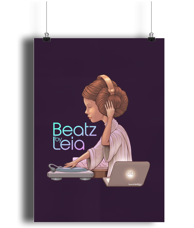 Beatz by Leia Poster