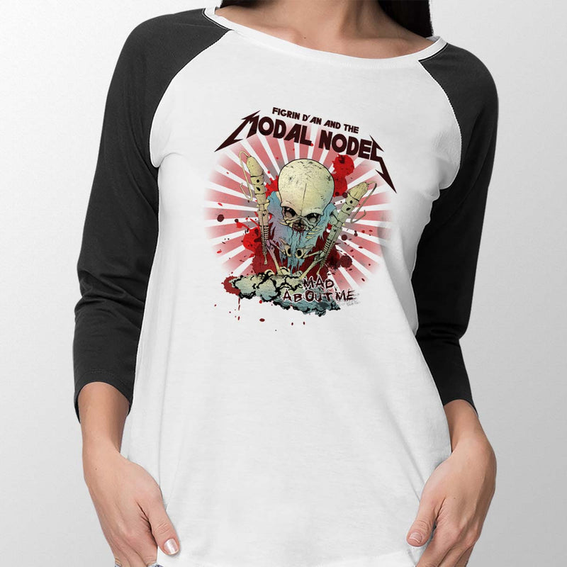 star wars modal nodes baseball tee womens