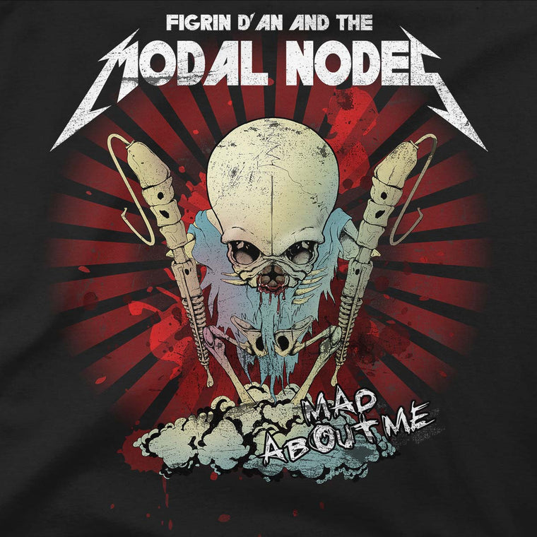star wars modal nodes tshirt grey