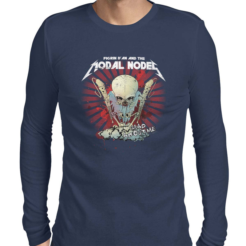 star wars modal nodes long sleeve navy